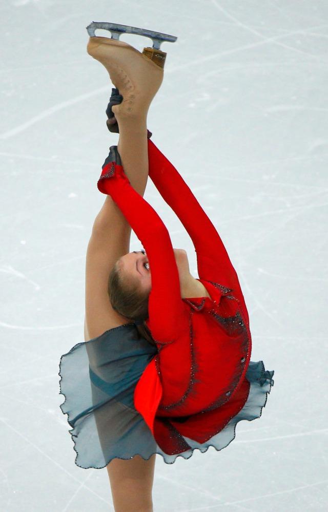 Sochi: Julia Lipnitskaya's perfect Biellmann