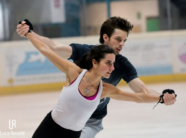 Marchei/Hotarek in practice--fierce!