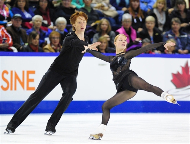 Tarasova/Morozov earlier this season
