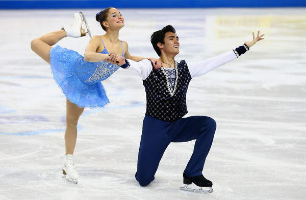The ballerina and her partner  (Streeter Lecka/Getty Images North America)