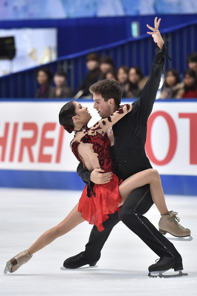 Bazarova/Deputat earlier this season at NHK