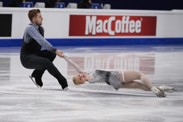 Paliakova/Bochkov at Europeans