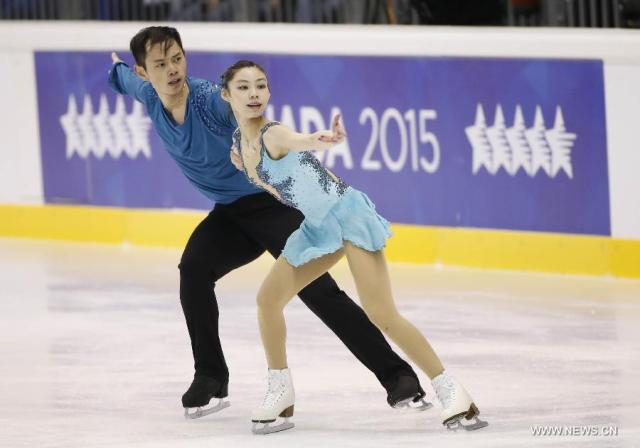 Another great competition for Yu/Jin  (Xinhua/Meng Yongmin)