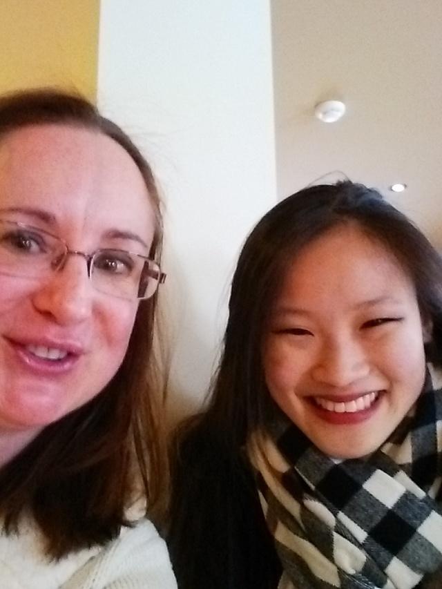 I met Christina!