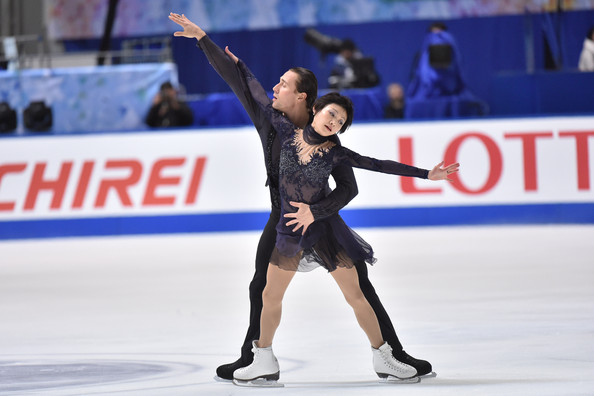 Kavaguti/Smirnov:  Back on the World podium?  (Atsushi Tomura/Getty Images AsiaPac)