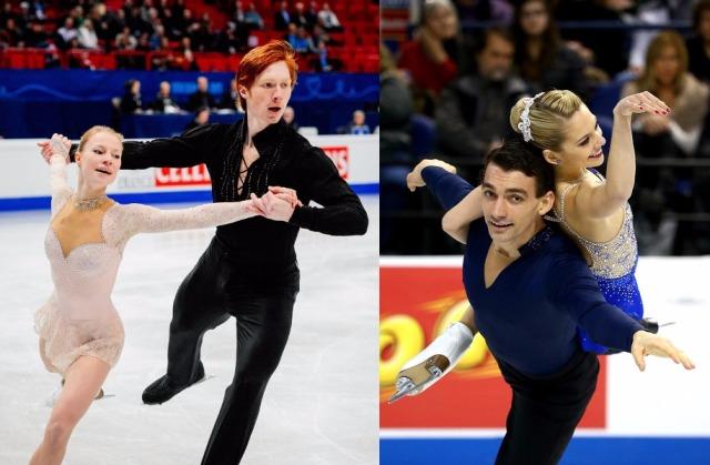 Tarasova/Morozov and Scimeca/Knierim