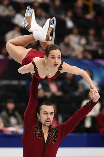 Stolbova/Klimov at last year's Worlds  (Atsushi Tomura/Getty Images AsiaPac)