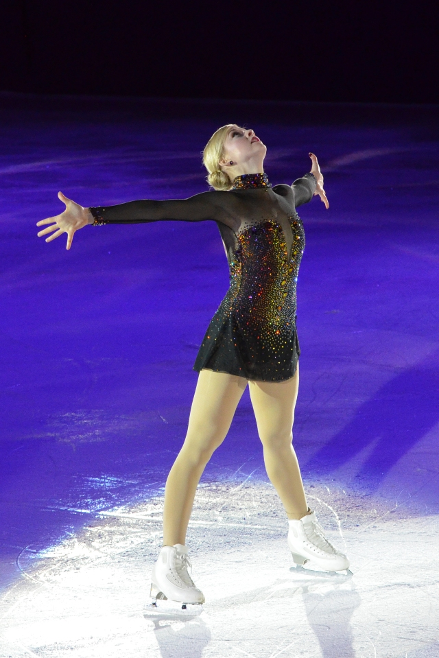 """Gracie skates to """"I Was Here"""" by Beyonce"""