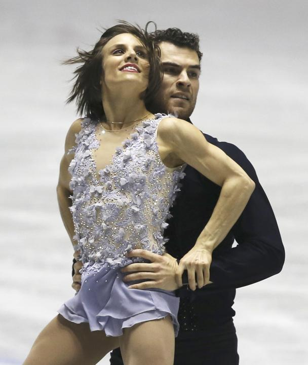 Duhamel/Radford overcome food poisoning!  (Koji Sasahara/AP)
