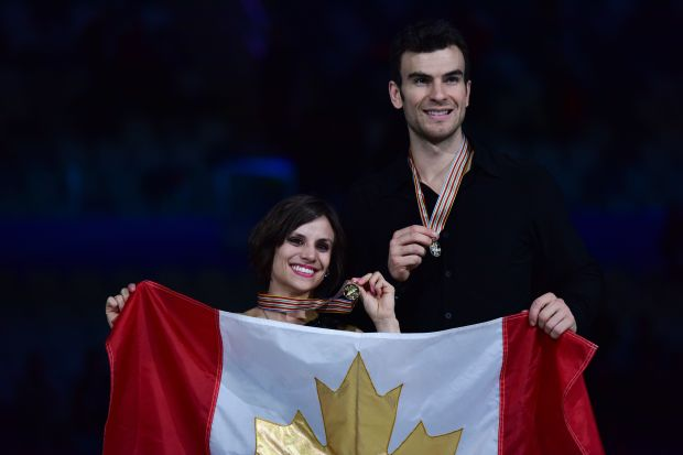 Duhamel/Radford: World champions  (Johannes Eisele/AFP/Getty Images)