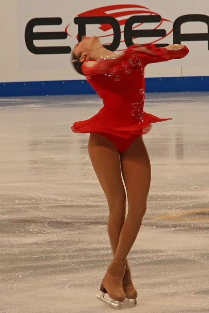 Local skater Gabriella Izzo