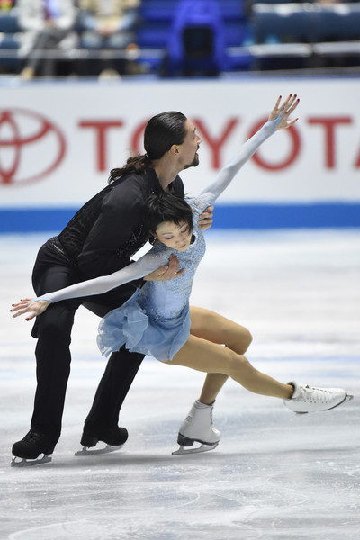 Kavaguti/Smirnov: Such beautiful programs  (Atsushi Tomura/Getty Images AsiaPac)