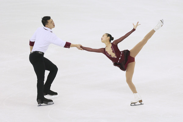 Their best long program of the season  (Xiaolu Chu/Getty Images AsiaPac)