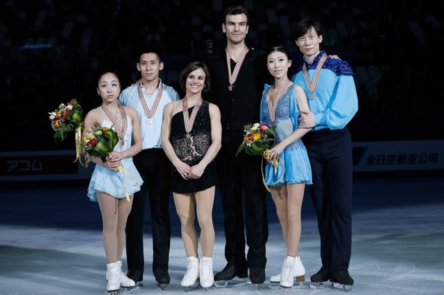 The medalists  (photo: ISU)