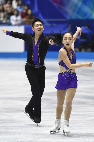 Sui/Han strut their stuff  (Atsushi Tomura/Getty Images AsiaPac)