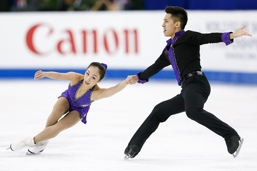 Sui/Han skate to silver  (Photo: ISU)