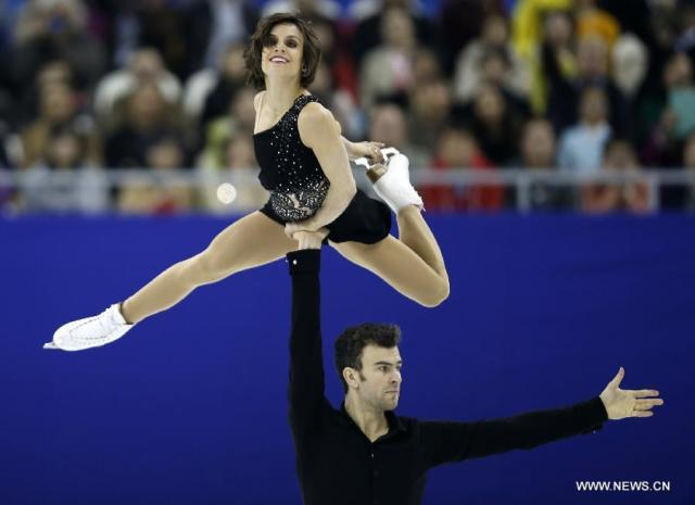 A lift from Duhamel/Radford  (Xinhua/Wang Lili)