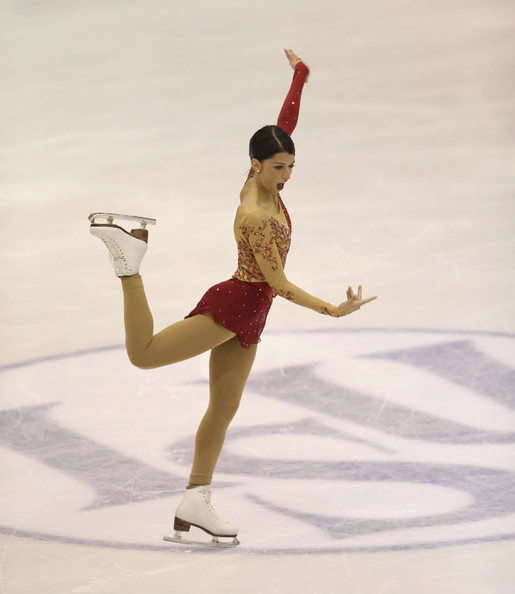 Her winning short program at Junior Worlds 2013 (Claudio Villa/Getty Images Europe)