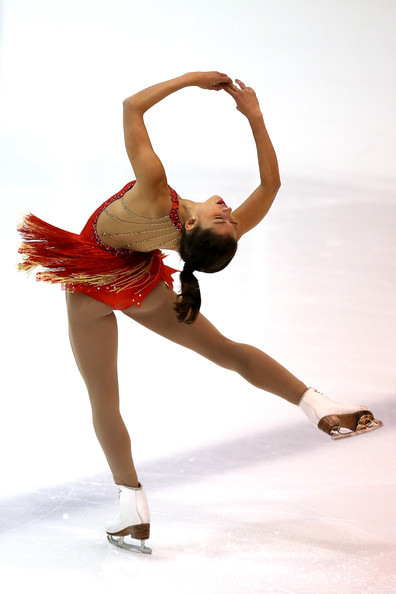 At the U.S. International Figure Skating Classic 2013