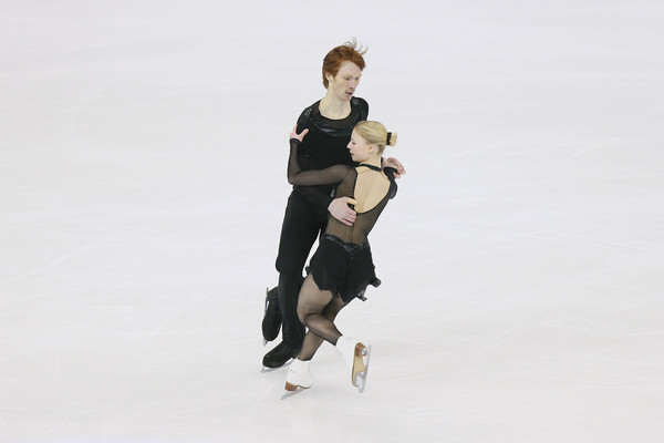 Tarasova/Morozov in their Worlds SP