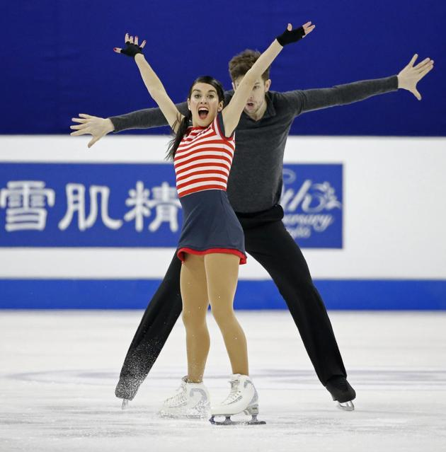 Marchei/Hotarek:  Will they win their first Grand Prix medal?  (Ng Han Guan)