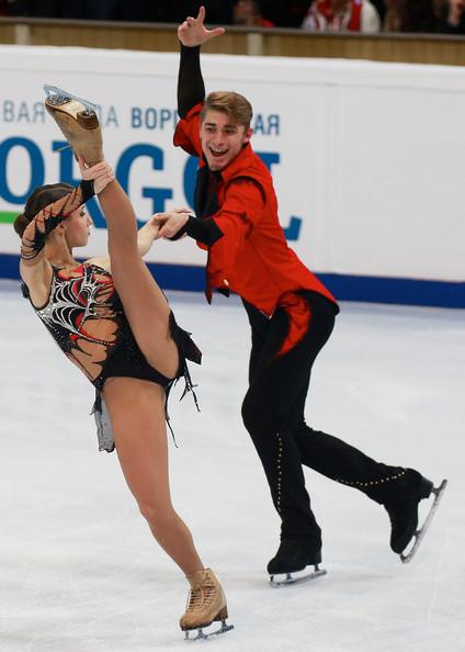 Astakhova/Rogonov:  Hoping to show consistency  & improvement this season  (Oleg Nikishin/Getty Images Europe)