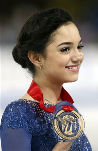 Medvedeva triumphs in her first Grand Prix