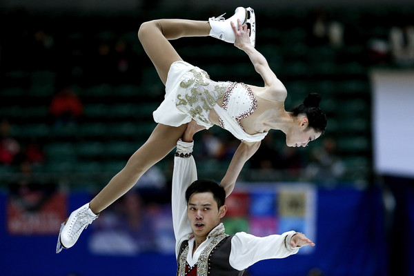 Yu/Jin return to competition (Lintao Zhang/Getty Images AsiaPac)