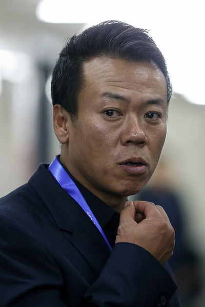 Chinese team leader Hongbo Zhao at Cup of China (Lintao Zhang/Getty Images AsiaPac)